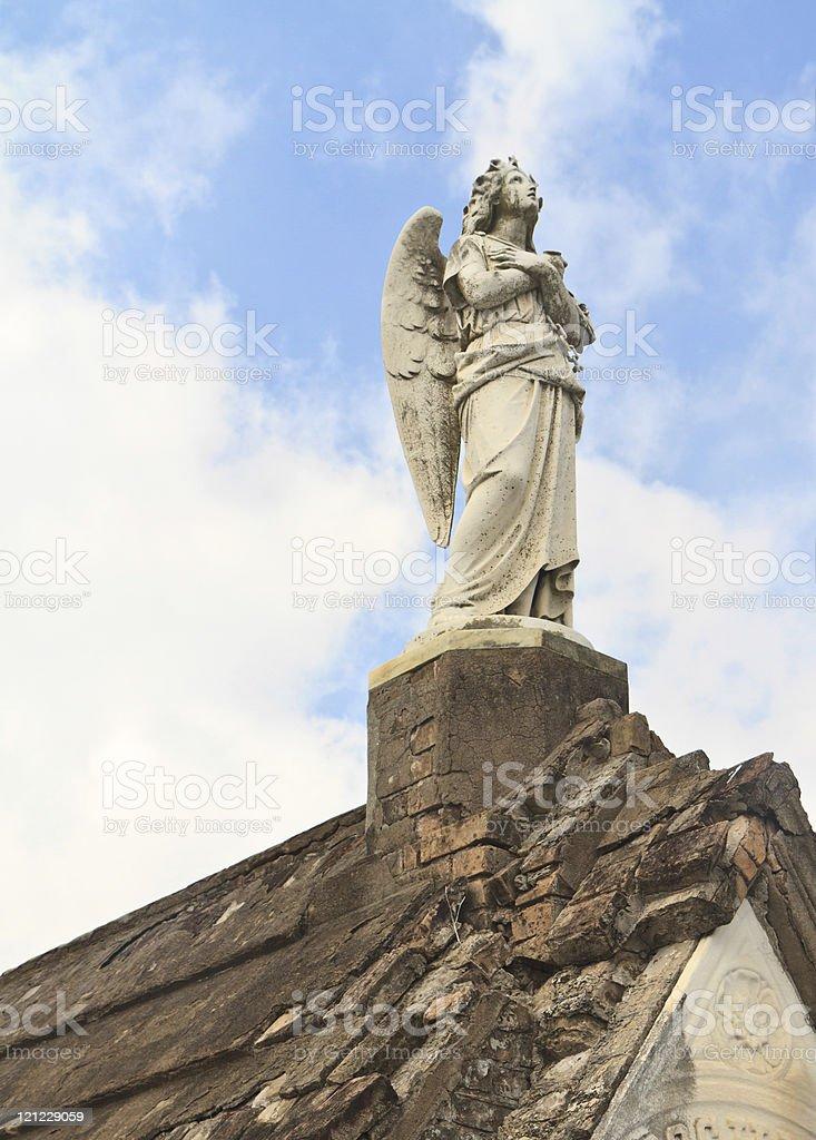 Plaintive Angel royalty-free stock photo