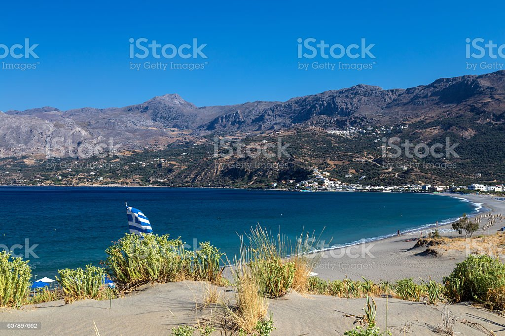 Plakias Bay, Crete stock photo