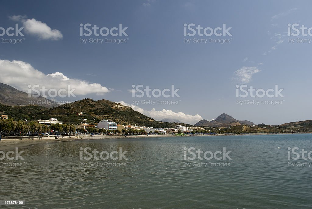 Plakias stock photo
