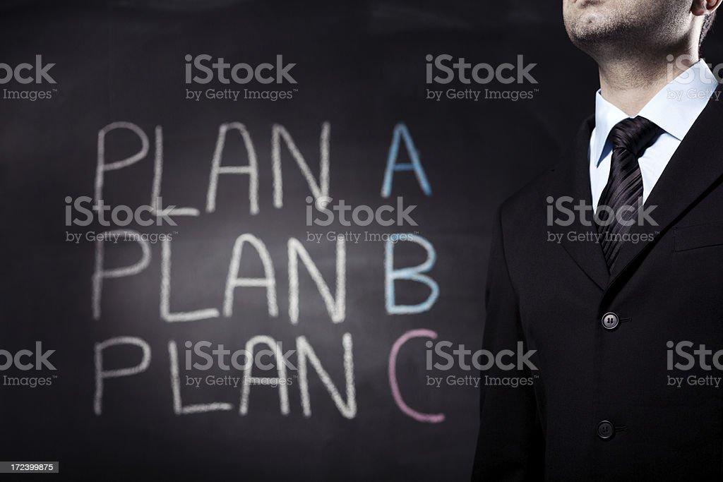 Plan C royalty-free stock photo
