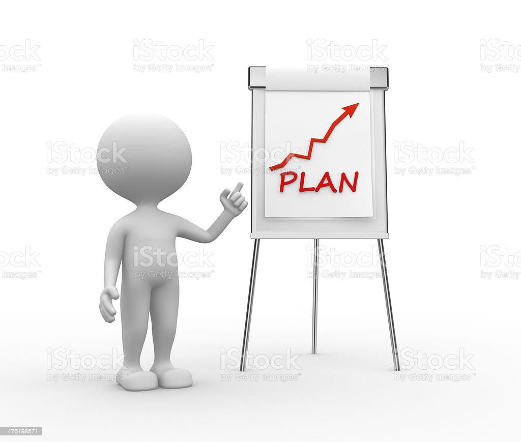 Plan concept royalty-free stock photo