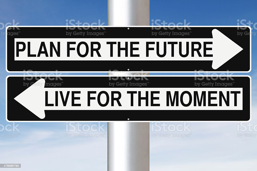 Plan For The Future stock photo