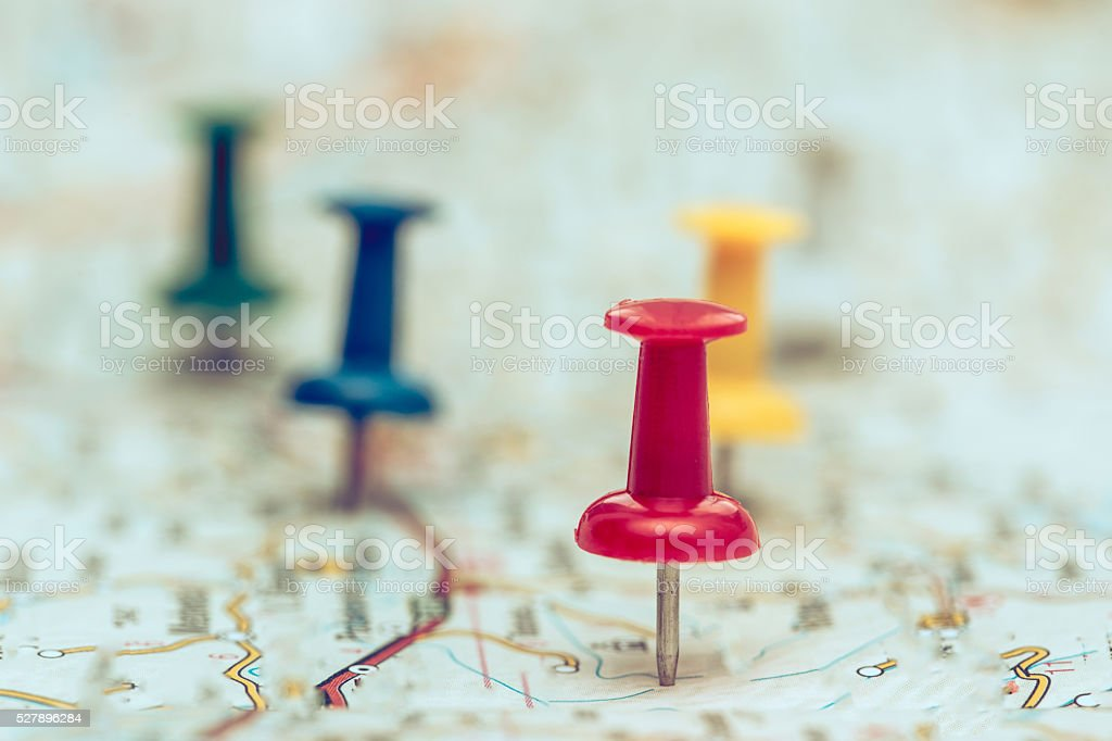 Plan For Travelling stock photo
