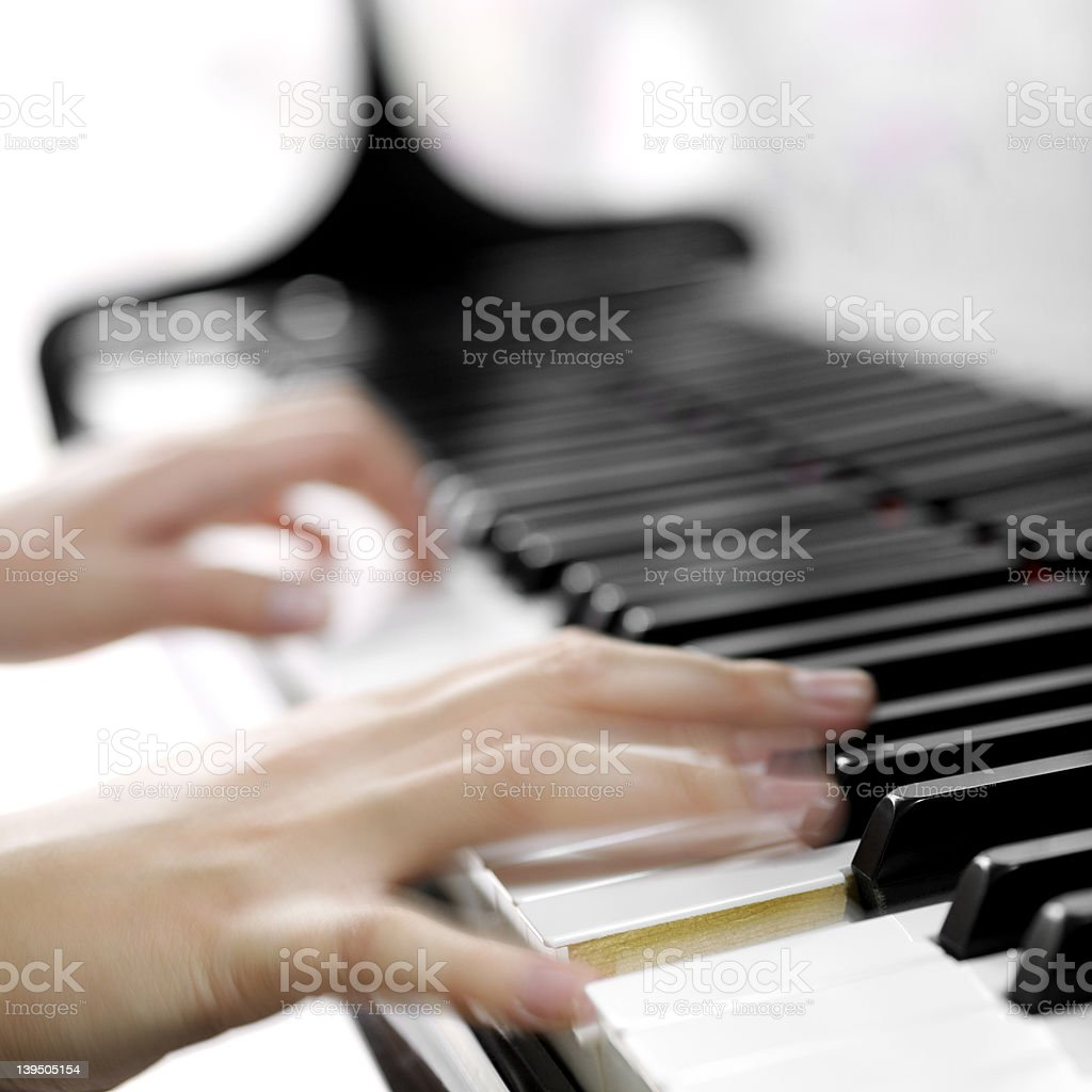 Piano royalty-free stock photo