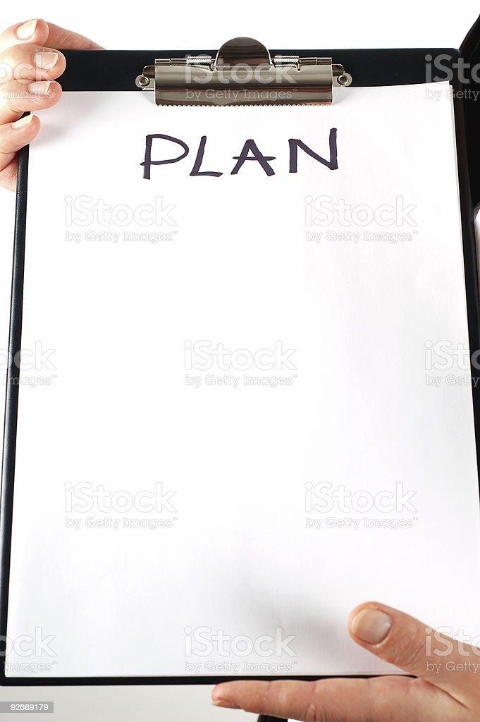 plan #4 royalty-free stock photo