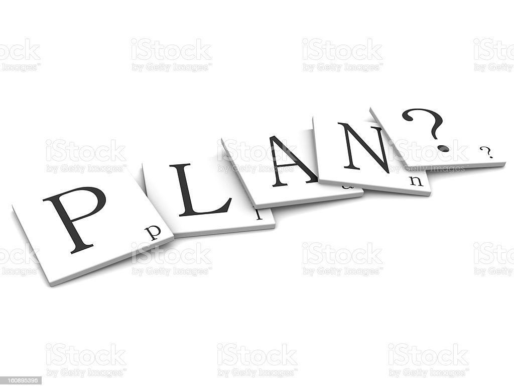 Plan Quest royalty-free stock photo