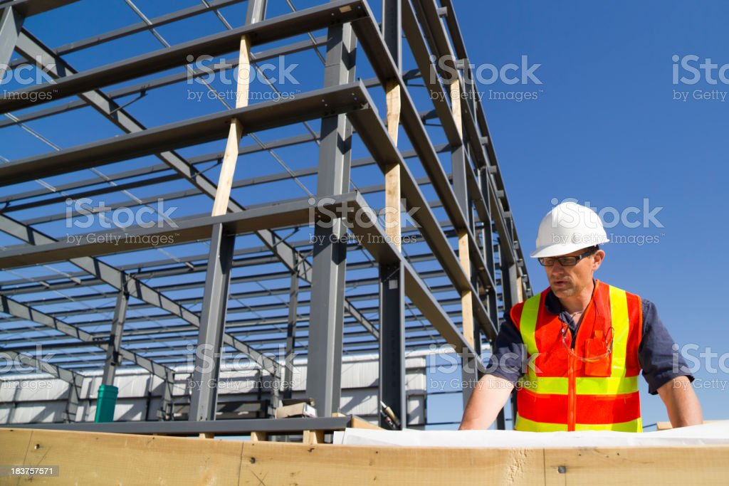 Plan Review stock photo