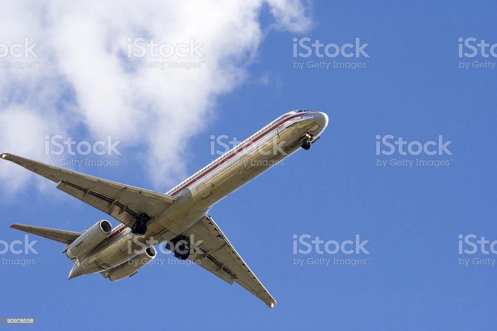 Plane 6 royalty-free stock photo