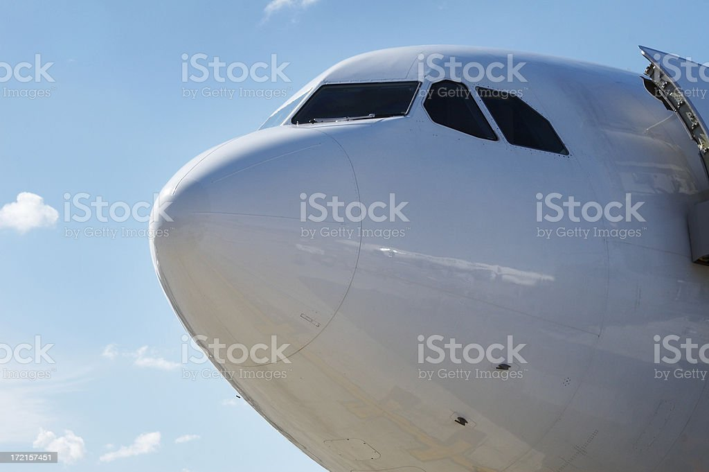 plane cone in the dominican royalty-free stock photo