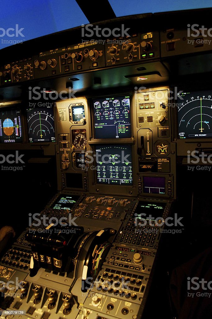 plane control royalty-free stock photo