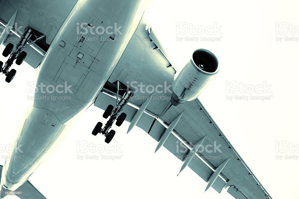 Plane detail royalty-free stock photo