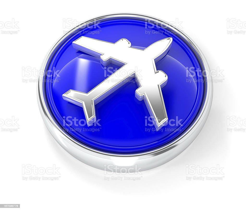 plane icon royalty-free stock photo