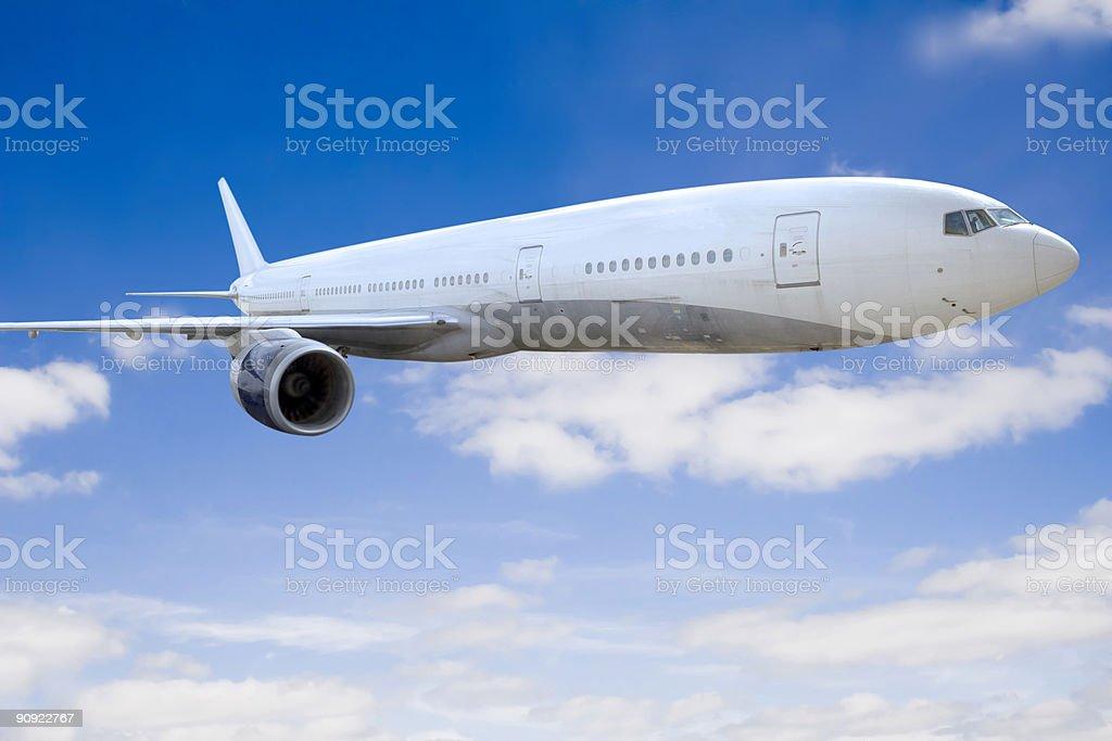 plane royalty-free stock photo