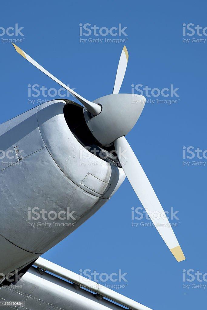 Plane Propeller royalty-free stock photo