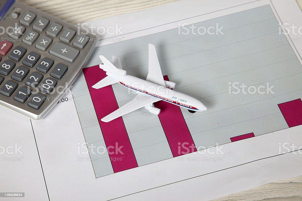 Plane XXL stock photo