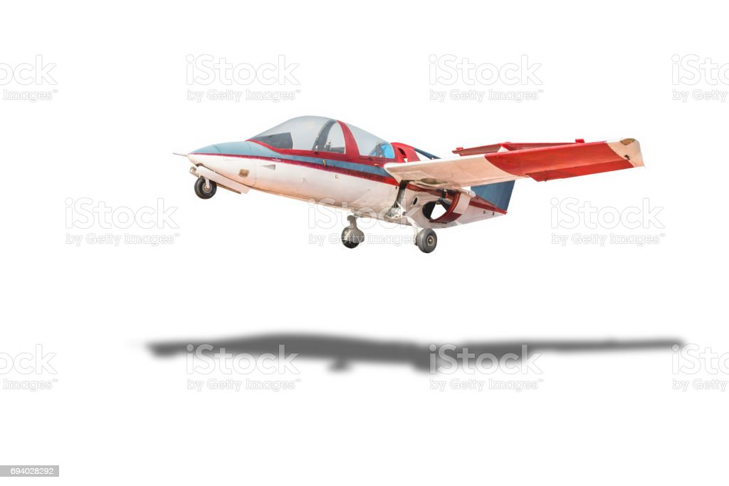 plane,isolated on white with clipping path. stock photo