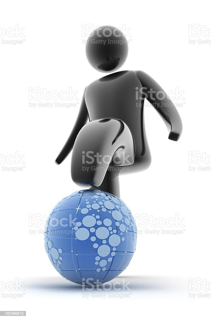 Planet destroyed royalty-free stock photo