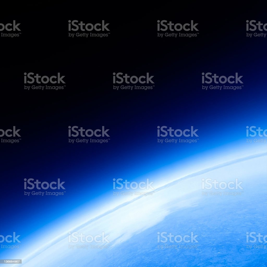 planet earth close-up royalty-free stock photo