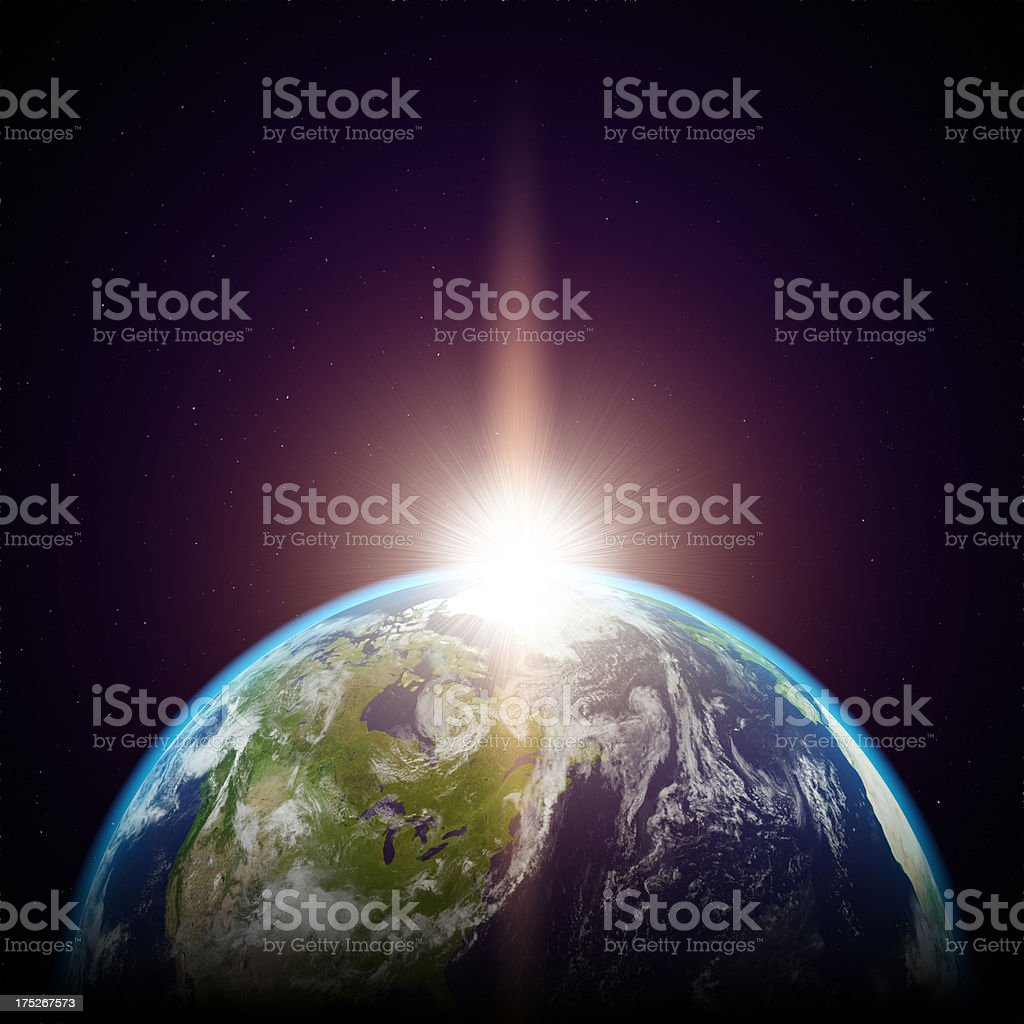 Planet Earth - ultra high resolution stock photo