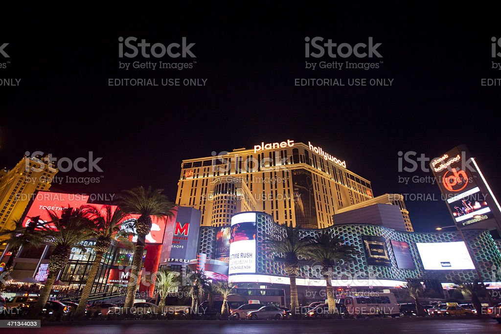 Planet Hollywood stock photo