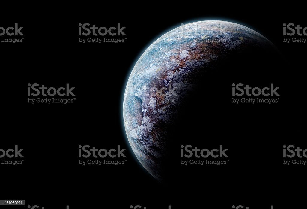 Planet royalty-free stock photo