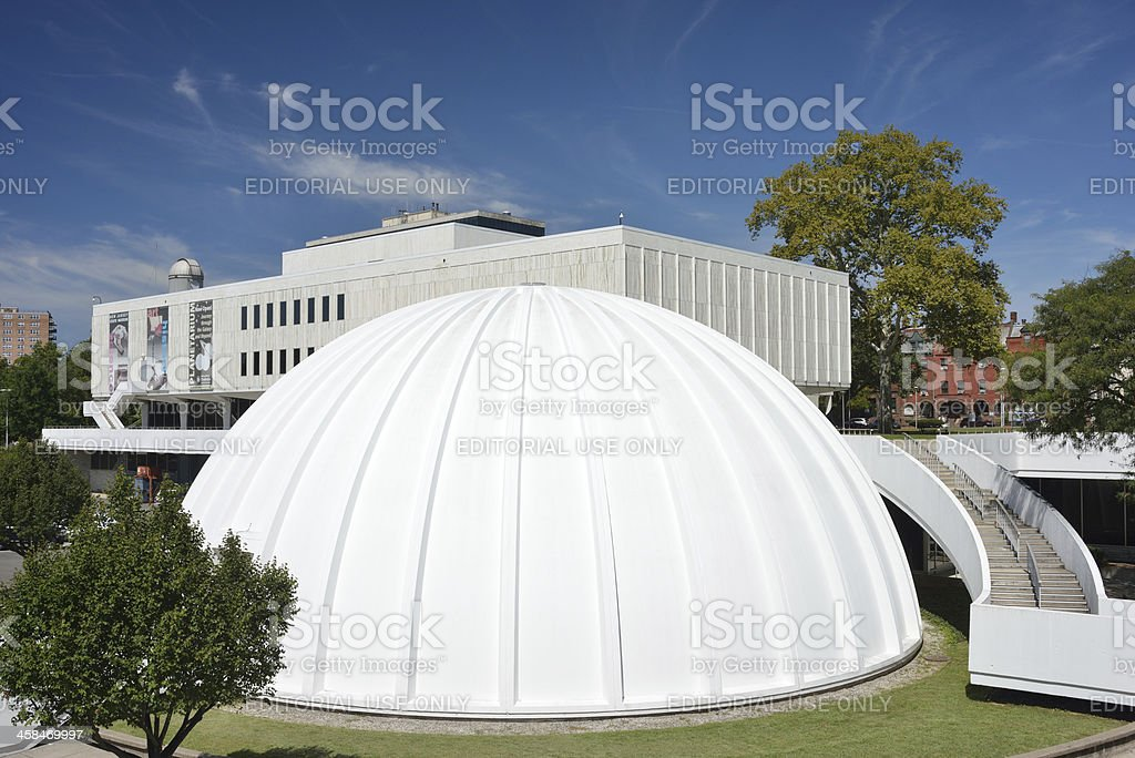 Planetarium and State Museum in Trenton royalty-free stock photo