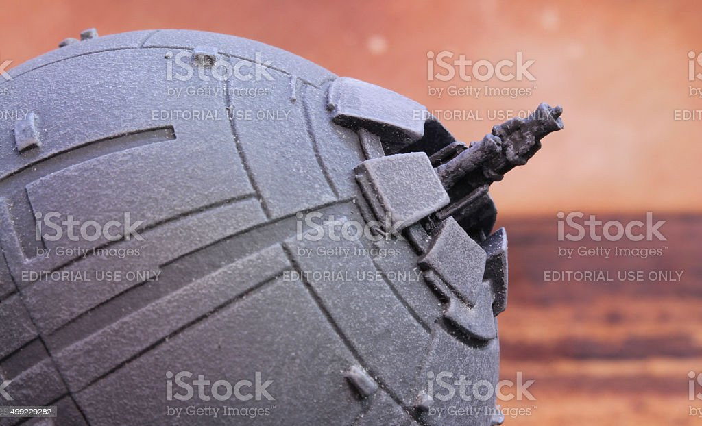 Planetary Defence stock photo
