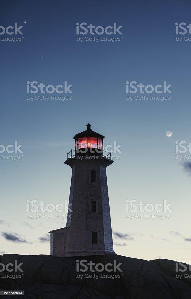 Planetary Light stock photo