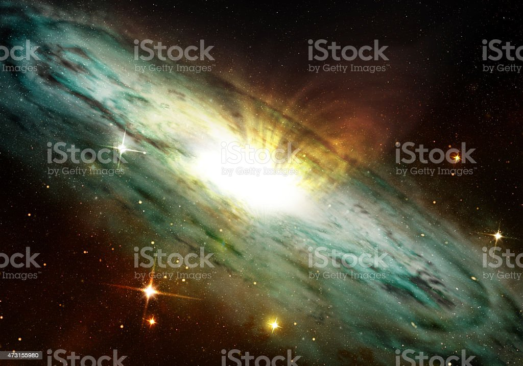 planetary nebula stock photo