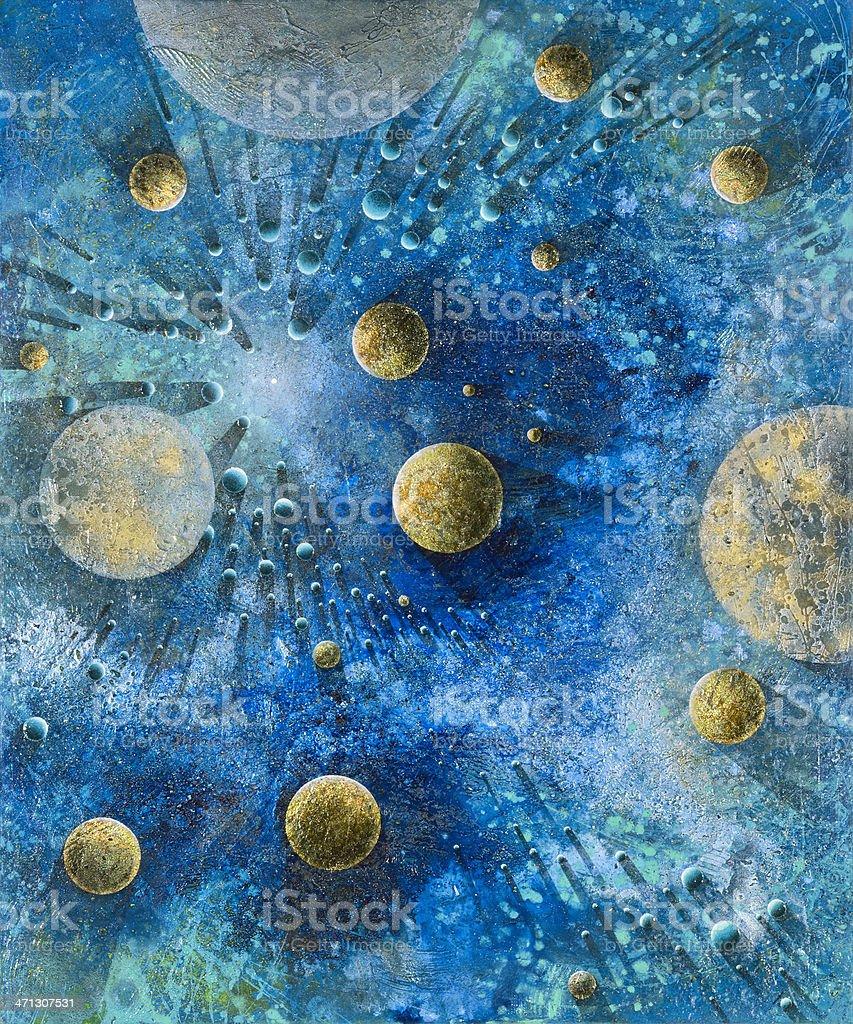 Planetary royalty-free stock photo