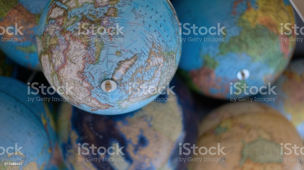 Planets Earth stock photo