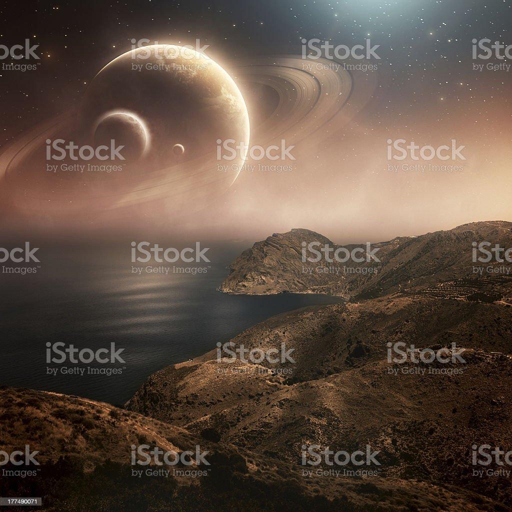 Planets stock photo