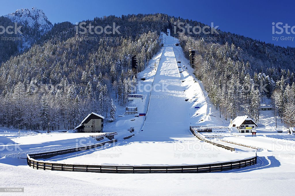 Planica. royalty-free stock photo