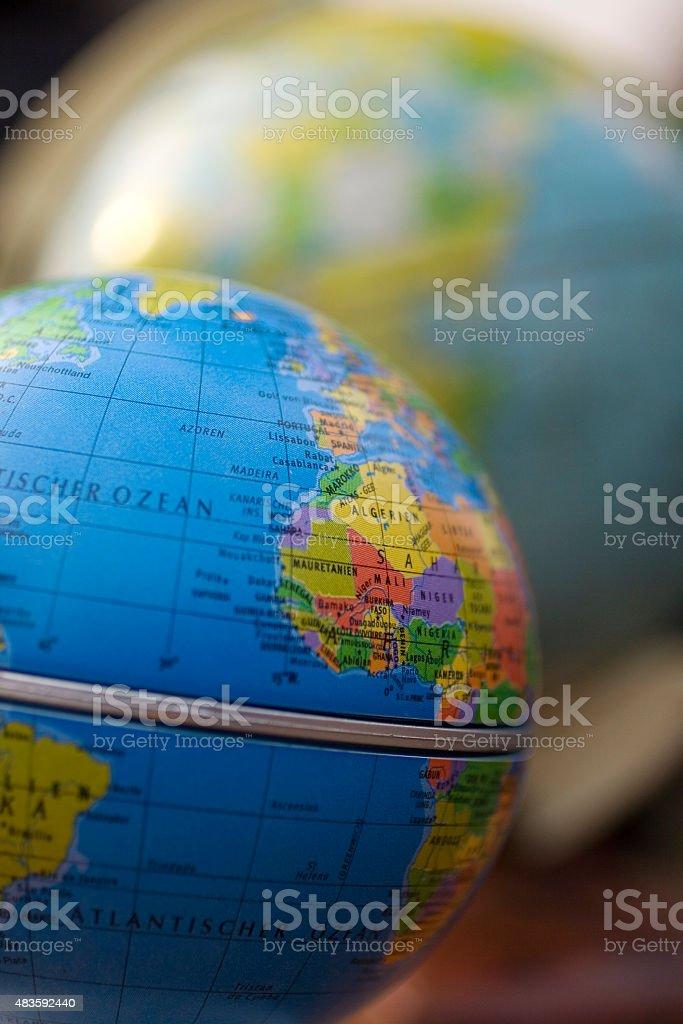 Planisphere stock photo