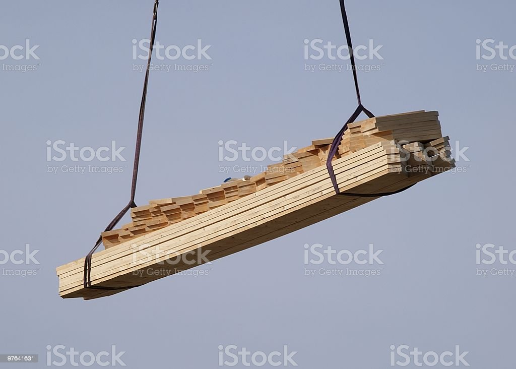 Planks in the air royalty-free stock photo