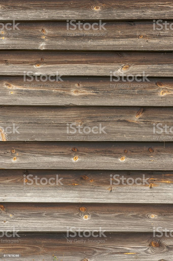 Planks of wooden wall stock photo