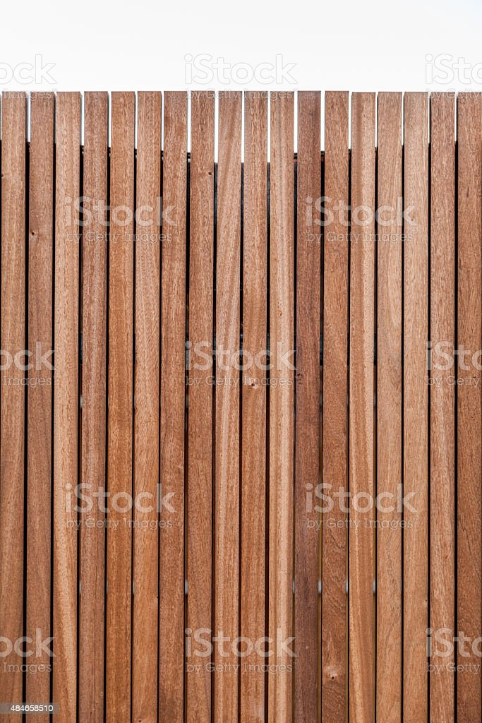 Planks of wooden wall texture stock photo