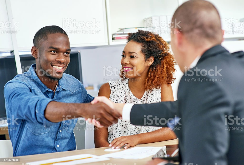 Planning ahead for peace of mind stock photo