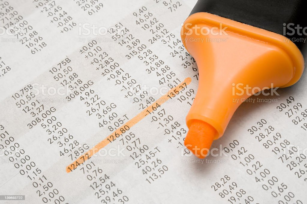 Planning Business royalty-free stock photo