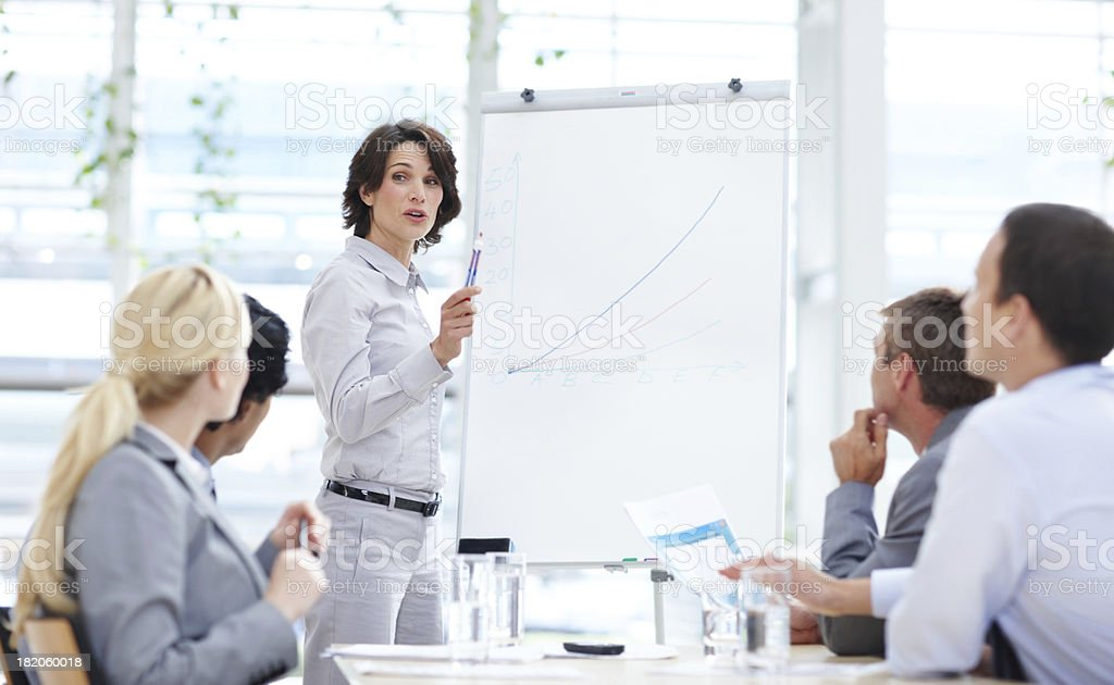 Planning comes before action royalty-free stock photo