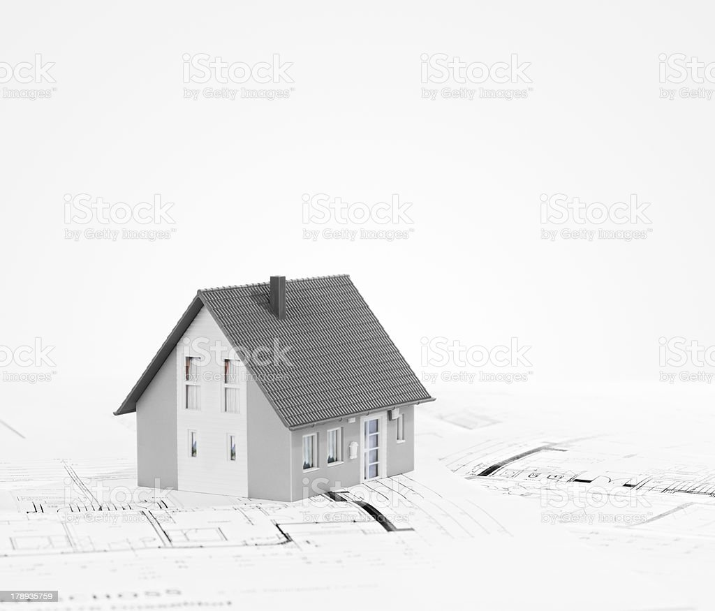 Planning Family Home royalty-free stock photo