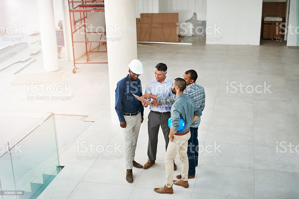 Planning for expansion stock photo