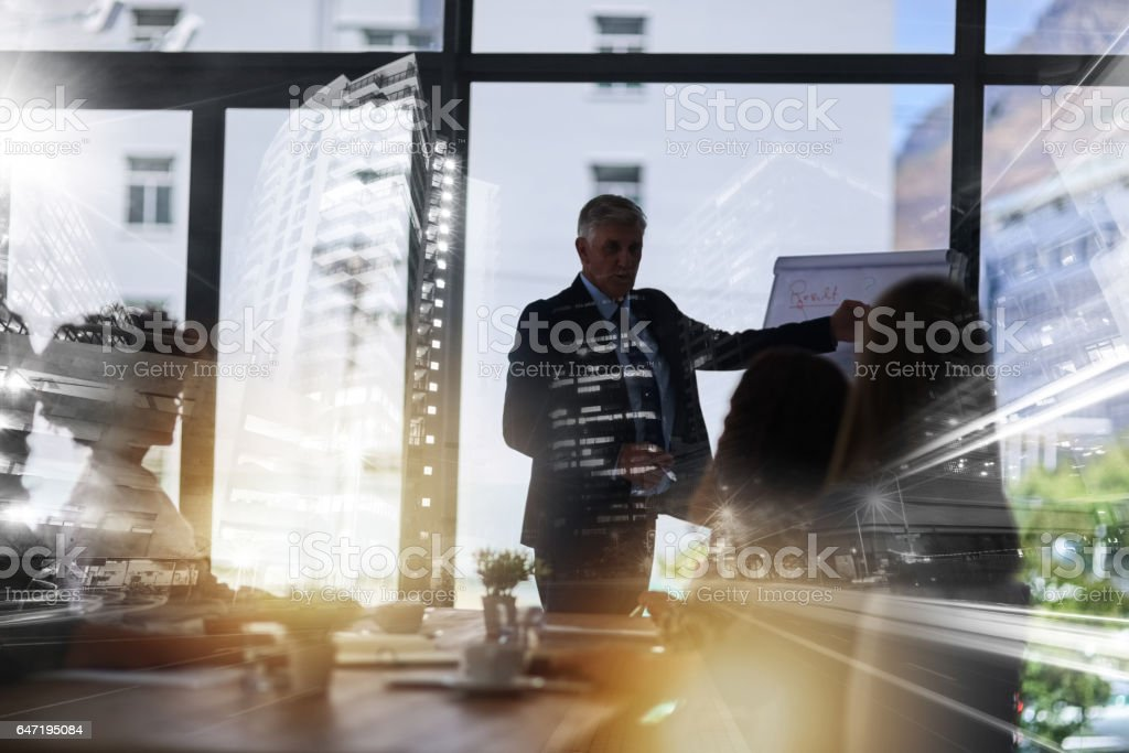 Planning for the future stock photo
