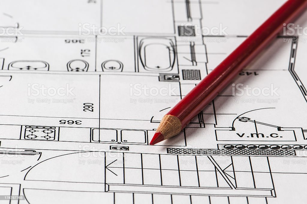 Planning home royalty-free stock photo