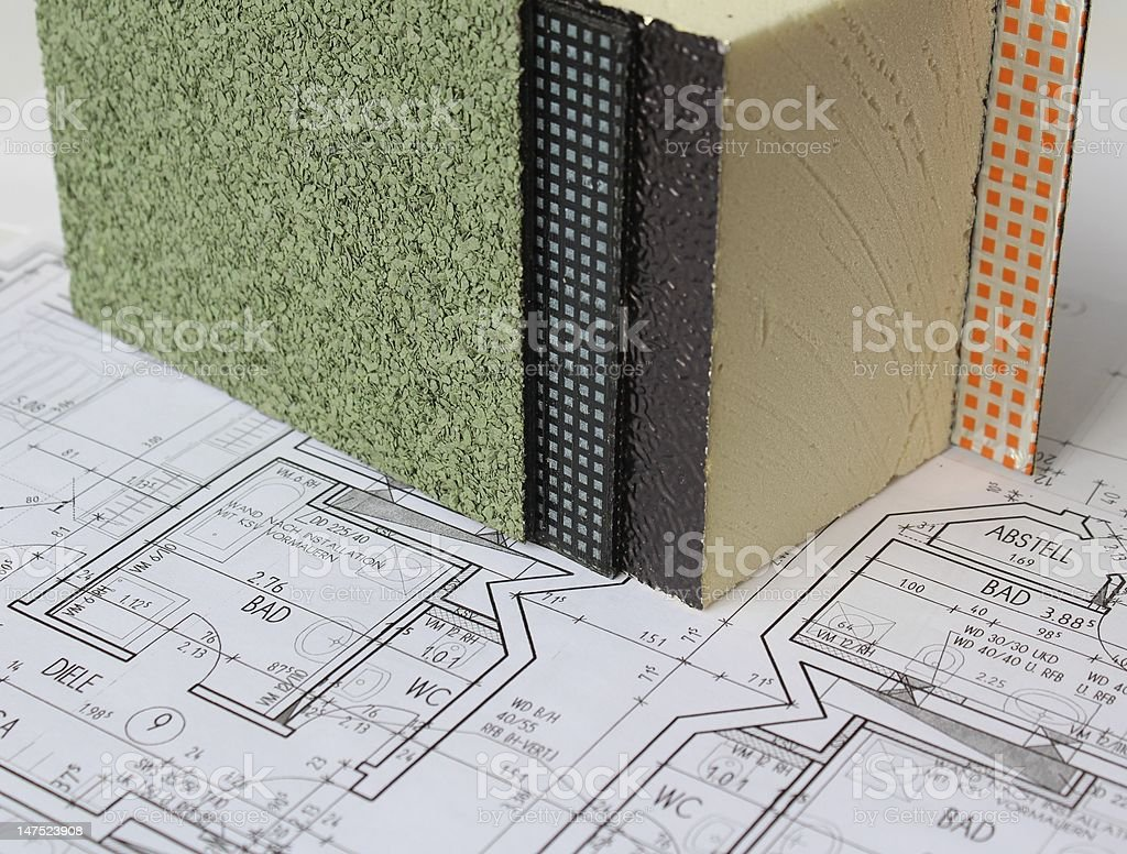 Planning of a building stock photo