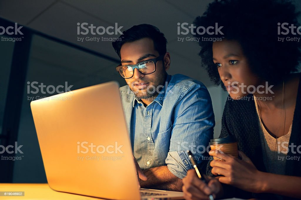 Planning out their next strategic move stock photo
