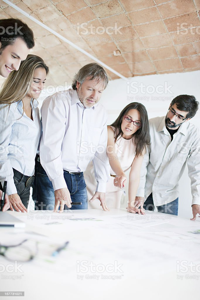 Planning royalty-free stock photo