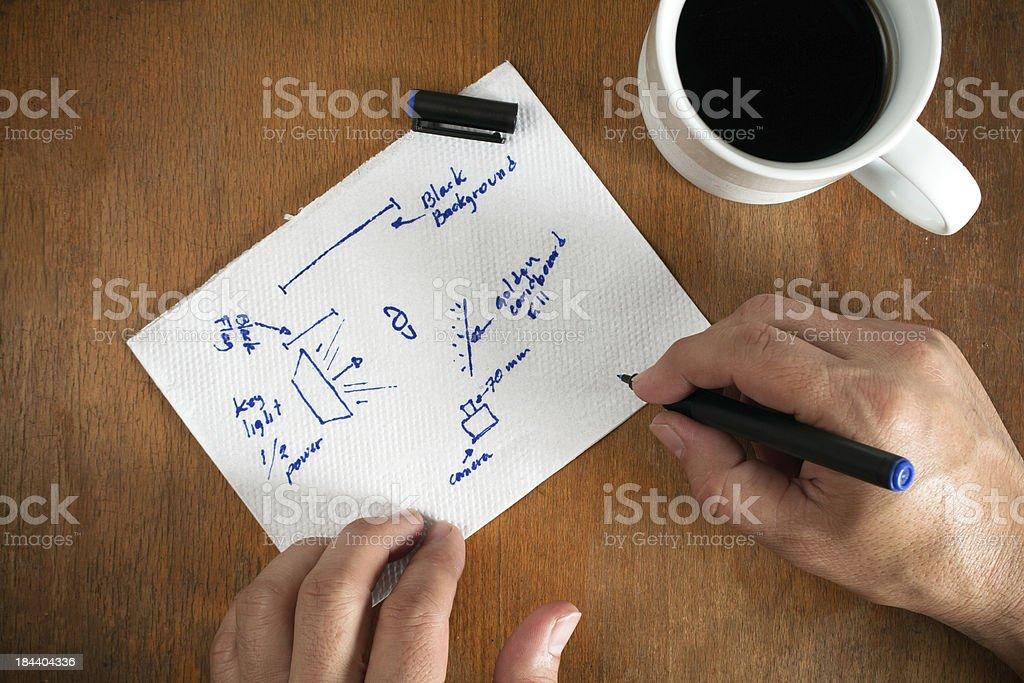 Planning stock photo