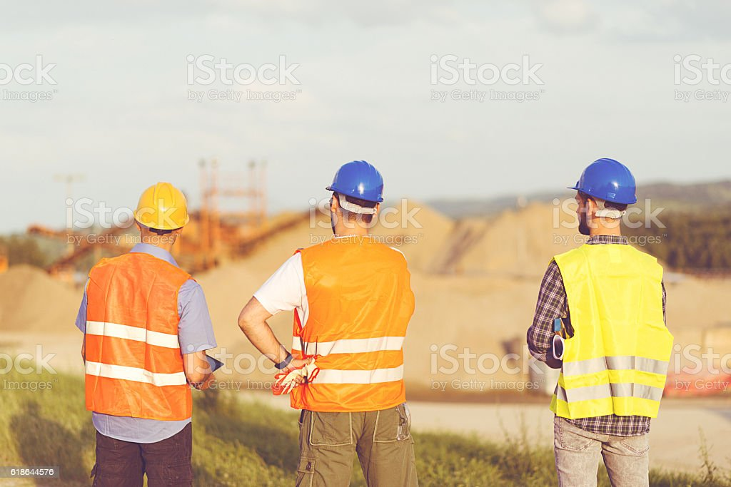 Planning process prior to execution stock photo