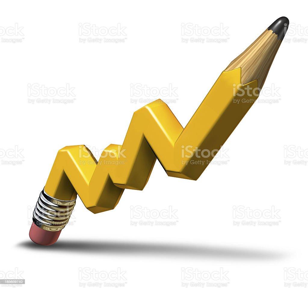 Planning Profit Growth stock photo